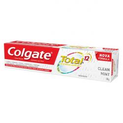 Creme Dental Colgate Total 12 Clean Mint 140g