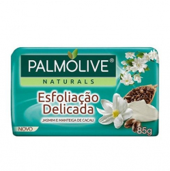 Sabonete Palmolive Naturais Esfoliacao Delicada JASMIN 85g