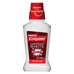Enxaguante Bucal Branqueador Colgate Luminous White XD 250ml