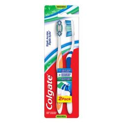Escova Dental Colgate Tripla Ação Macia 2un Promo Leve 2 Pague 1