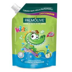Condicionador Palmolive Naturals Kids Cabelo Cacheado 200ml Refil
