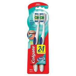 Escova Dental Colgate 360 Macia 2un Promo Leve 2 Pague 1