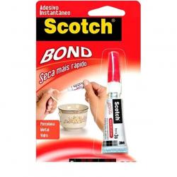 Adesivo Instantâneo SCOTCH BOND 3g Com 12 unidades