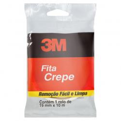 Fita Crepe 3M 19mm x 10m