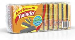 Esponja Multiuso TININDO Com 12 Unidades