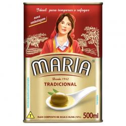 Óleo Composto de Soja e Oliva MARIA Tradicional Lata 500ml
