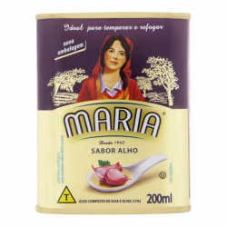 Óleo Composto de Soja e Oliva MARIA Alho Lata 200ml