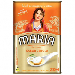 Óleo Composto de Soja e Oliva MARIA Cebola Lata 200ml