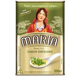Óleo Composto de Soja e Oliva MARIA Oregano Lata 200ml