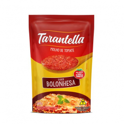 Molho de Tomate TARANTELLA Sabores Bolonhesa Sache 340g