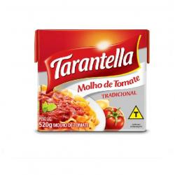Molho de Tomate TARANTELLA Tradicional TP 520g