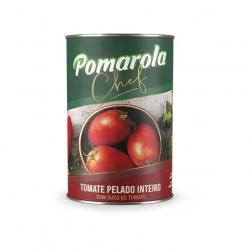 Tomate Pelado Inteiro POMAROLA Chef Lata 400g