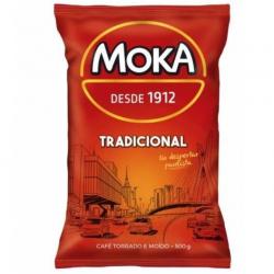 Café MOKA Torrado E Moído Tradicional Almofada 500g