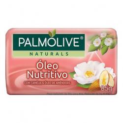 Sabonete Barra PALMOLIVE 85g Óleo Nutritivo Camélia E Óleo de Amêndoas