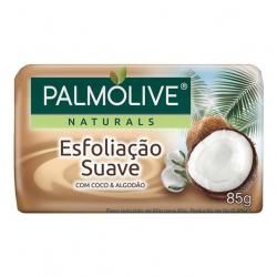 Sabonete Barra PALMOLIVE 85g Esfoliação Suave Coco E Algodão
