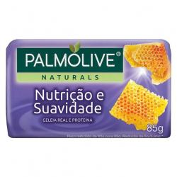 Sabonete Barra PALMOLIVE 85g Nutrição e Suavidade Geléia Real e Proteinas
