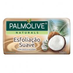 Sabonete Barra PALMOLIVE 150g Esfoliação Suave Coco E Algodão