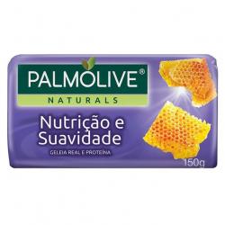 Sabonete Barra PALMOLIVE 150g Nutrição e Suavidade Geléia Real e Proteinas