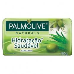 Sabonete Barra PALMOLIVE 150g Hidratação Saudável Aloe e Oliva