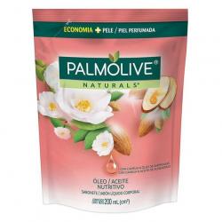Sabonete Liquido Refil PALMOLIVE 200ml Óleo Nutritivo Camélia e Óleo de Amêndoas