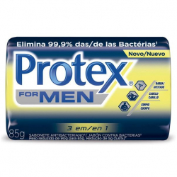 Sabonete Barra Antibacteriano PROTEX Men 3em1 85g
