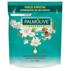 Sabonete Liquido Refil PALMOLIVE 200ml Suavidade Delicada Jasmim e Manteiga de Cacau