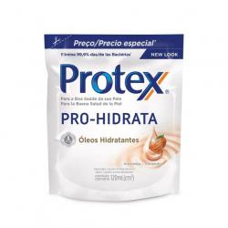 Sabonete Liquido Antibacteriano PROTEX 120ml Pro Hidrata Amêndoa