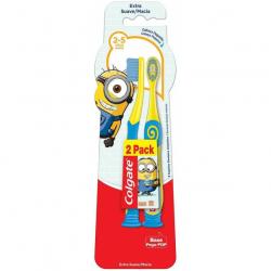 Escova Dental COLGATE Smiles Minions 2 a 5 Anos com 2 Unidades