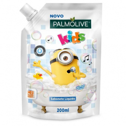 Sabonete Líquido Infantil PALMOLIVE Kids Minions 200ml Refil