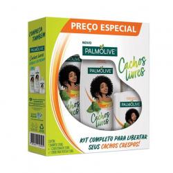 Kit PALMOLIVE Cachos Livres Preço Especial Promo