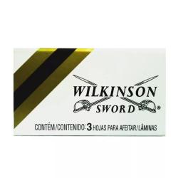 Laminas de Barbear WILKINSON 3 unidades conjunto com 20 unidades