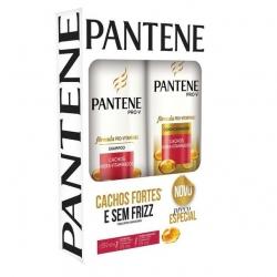 Kit PANTENE Shampoo 175ml + Condicionador Cachos Hidra vitaminados 175ml