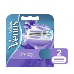 Carga para Aparelho de Depilar VENUS Breeze Cartela com 2 Unidades