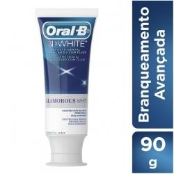 Creme Dental ORAL-B 3d White Glamorous White 90g