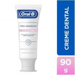 Creme Dental ORAL-B Pro Gengiva Sensibilidade 90g