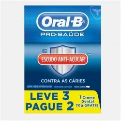Creme Dental ORAL-B Gold Sugar Shield 70g