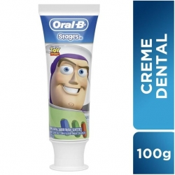 Creme Dental Kids ORAL-B Pro-Saúde Stages Mix Case 100g
