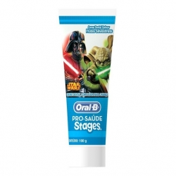 Creme Dental Kids ORAL-B Pro-Saúde Stages Star Wars 100g