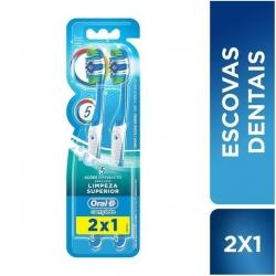 Escova Dental ORAL-B 3D Complete 5X Pague 1 Leve 2