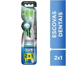 Escova Dental ORAL-B Ultrafino Com 2 Unidades
