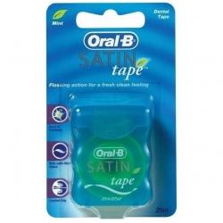 Fio Dental ORAL-B Satin Floss 25m com 6 Unidades