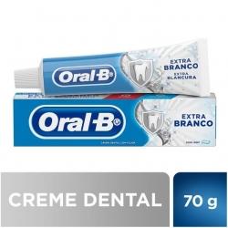 Creme Dental ORAL-B Extra Branco 70G