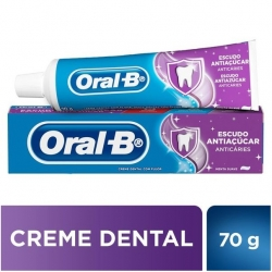 Creme Dental ORAL-B Escudo Antiaçúcar 70g