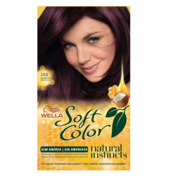 Tinta de Cabelo Wella Soft Color 366 Bourdeaux Profundo