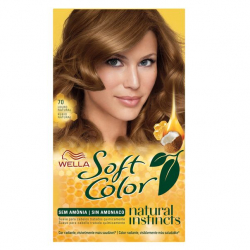 Tinta de Cabelo Wella Soft Color 70 Louro Natural