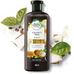 Shampoo Herbal Essences 400ml Leite de Coco
