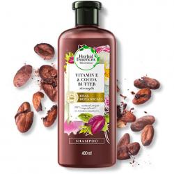 Shampoo Herbal Essences 400ml Vitamina E e Manteiga de Cacau